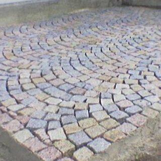 Granite éclaté
